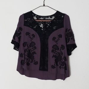 For Love & Lemons Isabella Lace Top